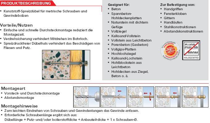 Dübel Für Maschinenschrauben Schrauben Günstige - Dübel für fliesen