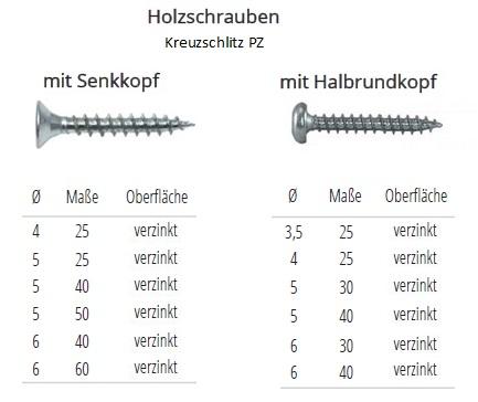 800pcs M2 Senkkopf Spanplattenschrauben Holzschrauben Kreuz Schrauben Sortiment