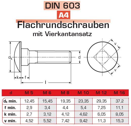 Lochplatten Edelstahl schloßschrauben din 603 a4 edelstahl schrauben günstige sicherheitsschrauben zubehör mehr