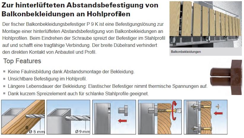 Balkonbefestigung Schrauben G Nstige