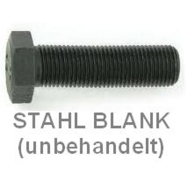 25 Feingewinde Sechskantschrauben DIN 961 10.9 M20x1,5x50