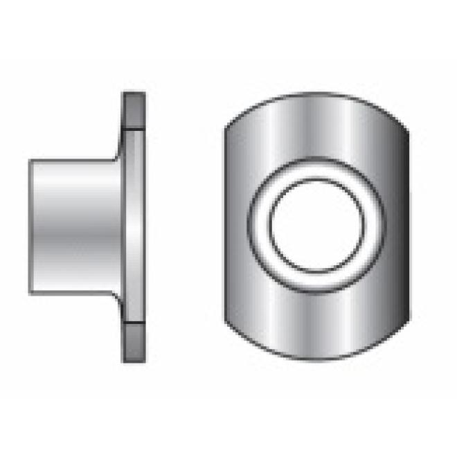 100/St/ück A2/Edelstahl Unterlegscheiben Form C M4/